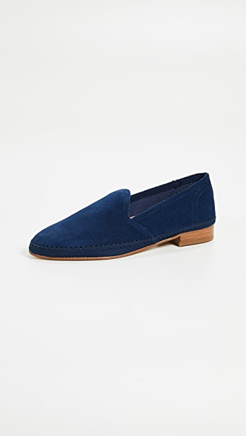 Soludos Venetian Loafers - Navy