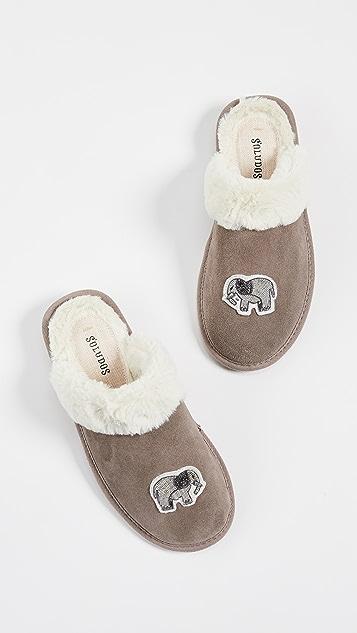 Soludos Elephant Cozy Slippers