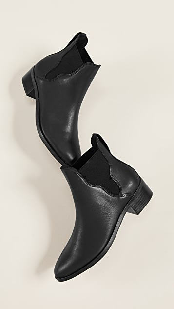 Soludos Marfa Leather Chelsea Booties