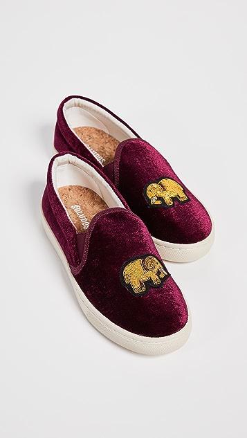 Soludos Metalwork Elephant Sneakers