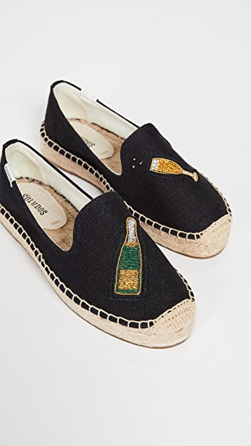 Soludos Cheers Smoking Slippers