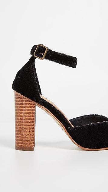 Soludos Collette Block Heel Pumps