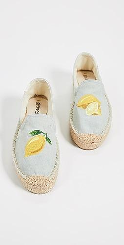 Soludos - Lemons Smoking Slippers