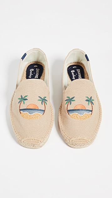 Soludos Sunset Smoking Slippers