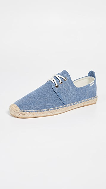 Soludos Canvas Derby Lace Ups