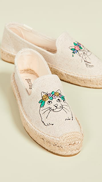 Soludos Spirit Animal Smoking Slippers