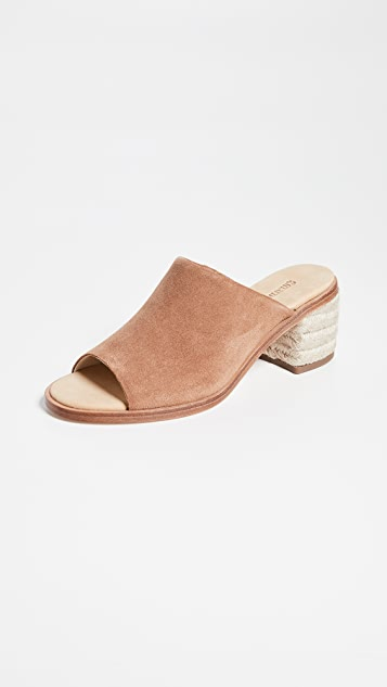 Soludos Capri Block Heel Mules