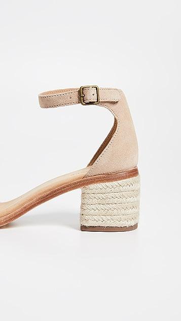 Soludos Capri Block Heel Sandals