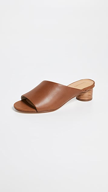 Soludos Milan 粗跟穆勒鞋