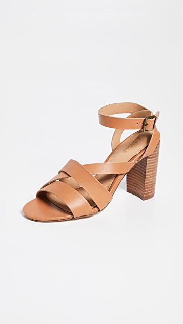 Soludos Emile Strappy Sandals - Nude