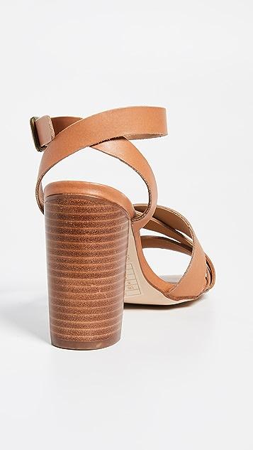 Soludos Emile 系带凉鞋