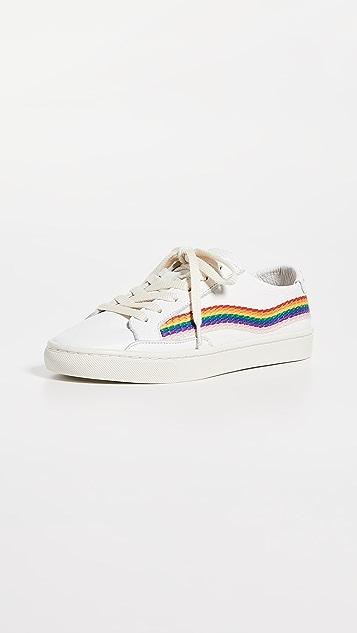 Soludos 彩虹波纹运动鞋