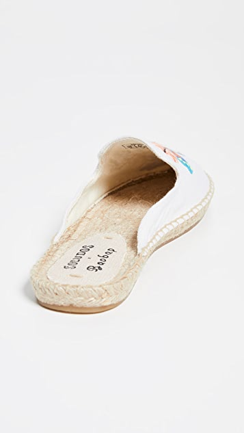 Soludos Butterflies Mules Espadrilles