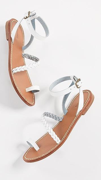 Soludos Madrid Strappy Braided Sandals