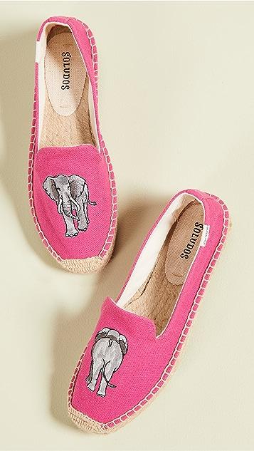 Soludos Слипперы Elephant на платформе