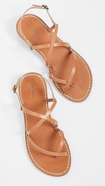 Soludos Zoe Strappy Sandals