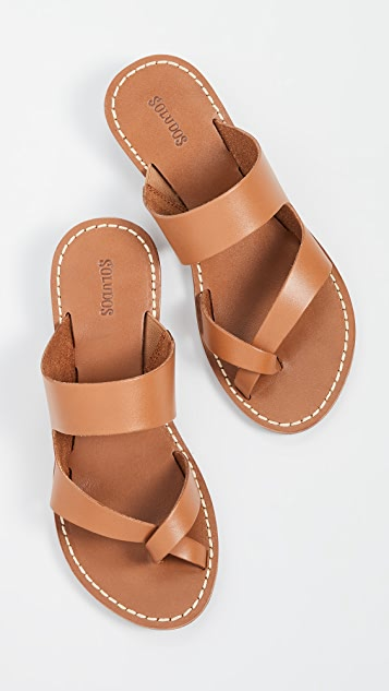 Mila Slide Sandals by Soludos
