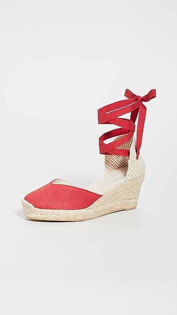 Soludos Lyon 坡跟编织鞋
