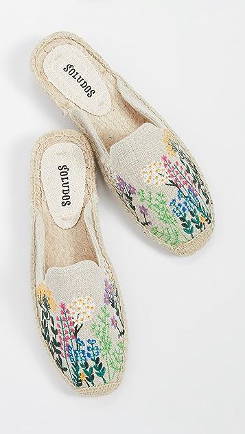 Soludos Эспадрильи без задников Wildflowers