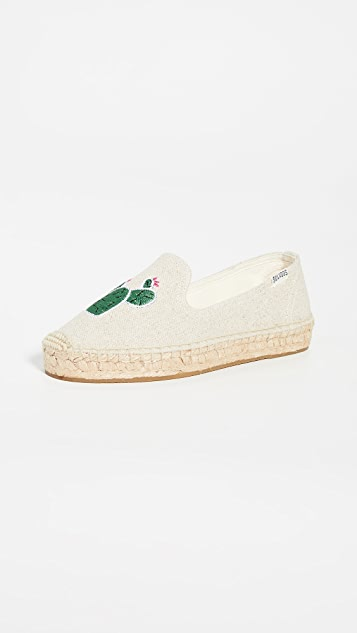 Soludos Cactus Smoking Slipper Espadrilles