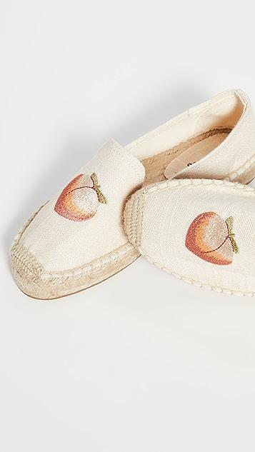 Soludos Эспадрильи в стиле слиперов Peach Bum