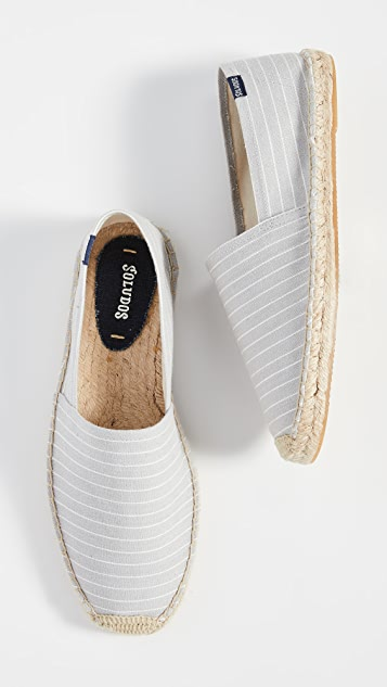 Soludos Striped Original Dali Espadrilles