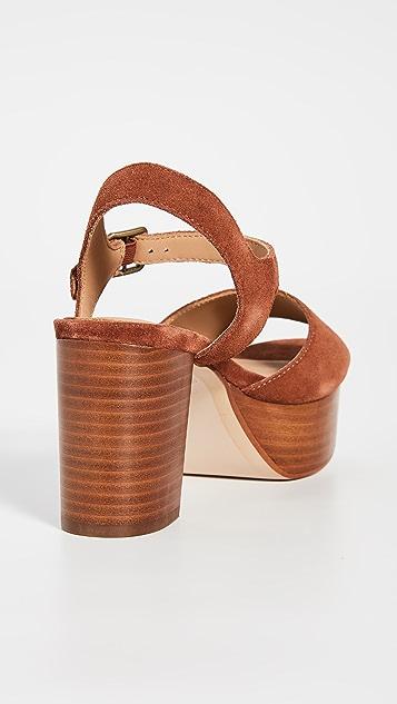 Soludos Avra 厚底凉鞋