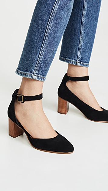 Soludos Gemma Block Heel Pumps