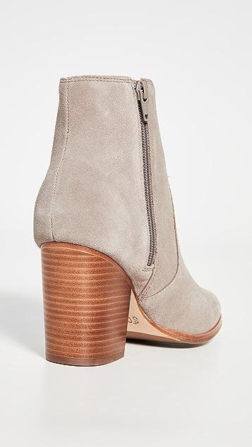 Soludos Emma Block Heel Booties
