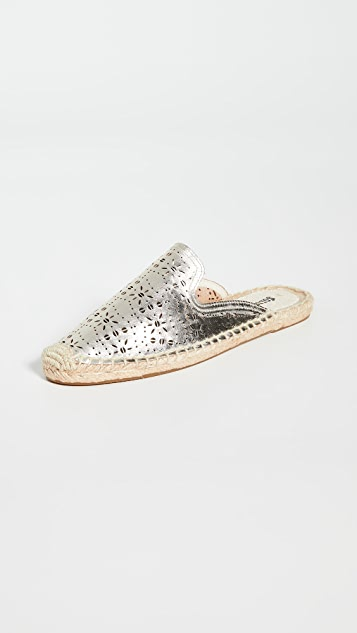 Soludos Ami 穿孔穆勒鞋