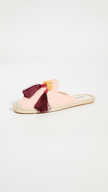 Soludos Alice 流苏穆勒鞋