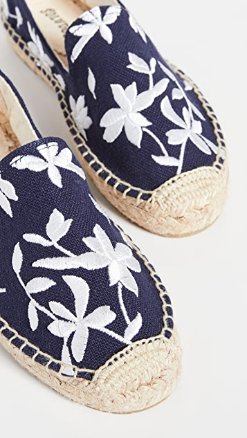 Soludos Shiloh Embroidered Espadrilles