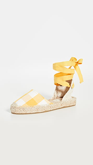 Soludos Lauren 编织底便鞋