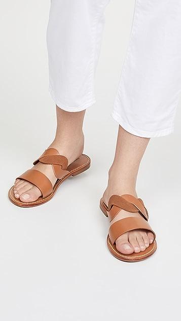 Soludos Imogen 皮凉鞋
