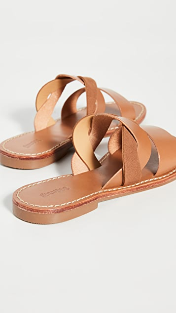 Soludos Imogen Leather Sandals
