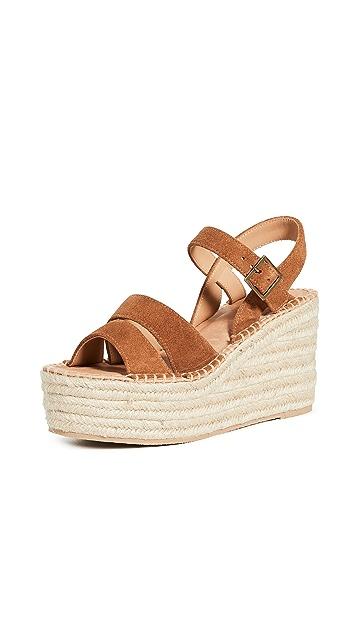 Soludos Como 厚底坡跟鞋