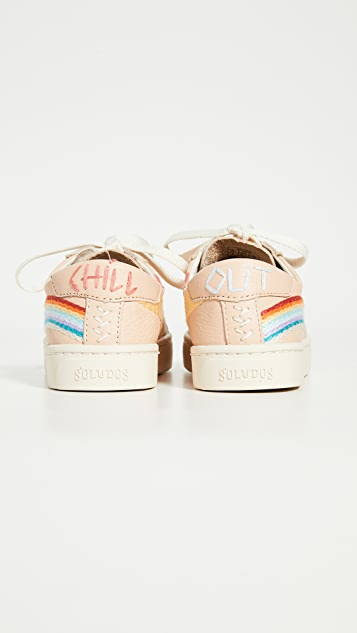 Soludos Rainbow Wave Sneakers