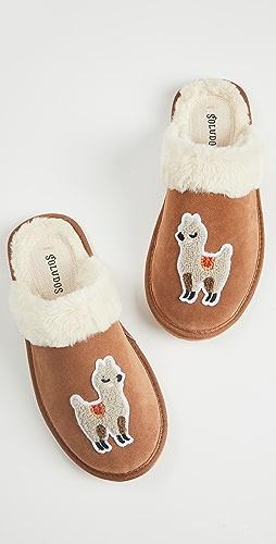 Soludos - Llama Cozy Slippers