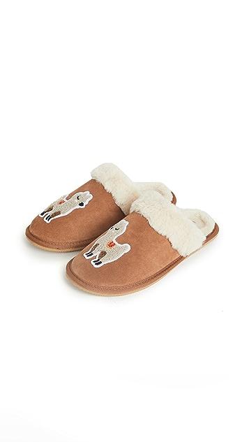 Soludos Llama Cozy Slippers