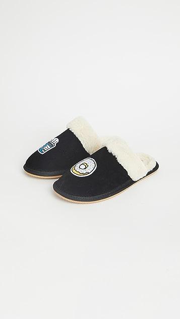 Soludos Coffee + Donut Cozy Slippers