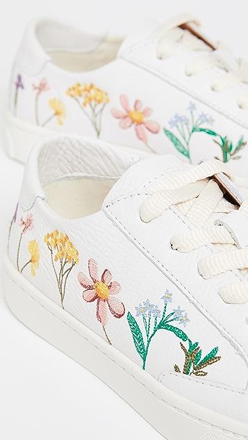 Soludos Pressed Flora Ibiza 运动鞋