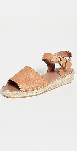 Soludos - Eden 踝带麻编鞋
