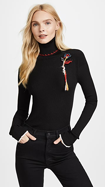 Sonia Rykiel Mock Neck Sweater