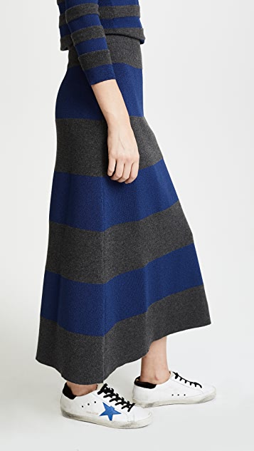 Sonia Rykiel Stripe Skirt