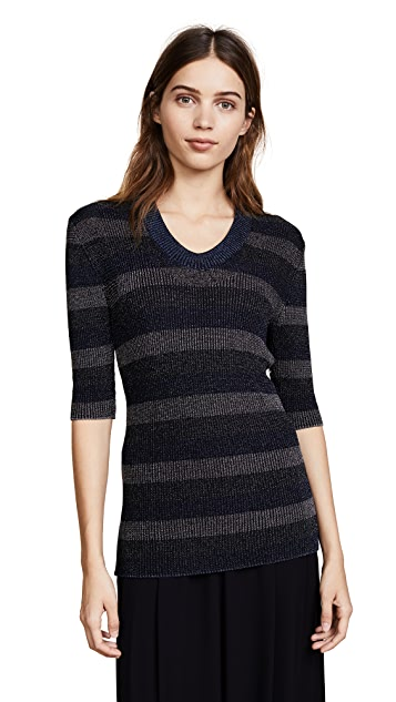 Sonia Rykiel Scoop Neck Sweater