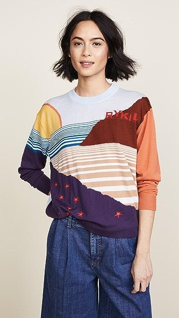 Sonia Rykiel Landscape Graphic Sweater