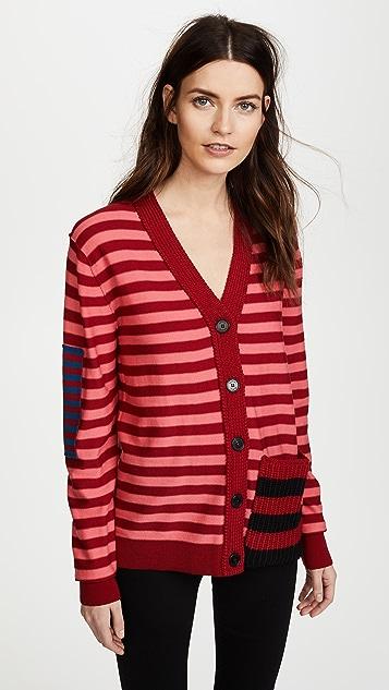 Sonia Rykiel Striped Cardigan