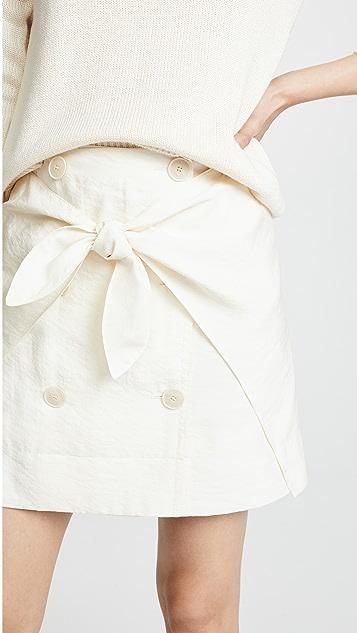 Sonia Rykiel Wrap Front Skirt