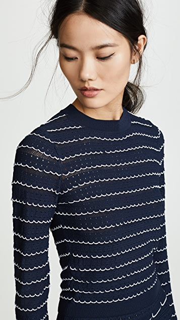 Sonia Rykiel Striped Sweater