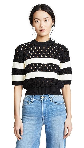 Sonia Rykiel Sailor Knit Pullover